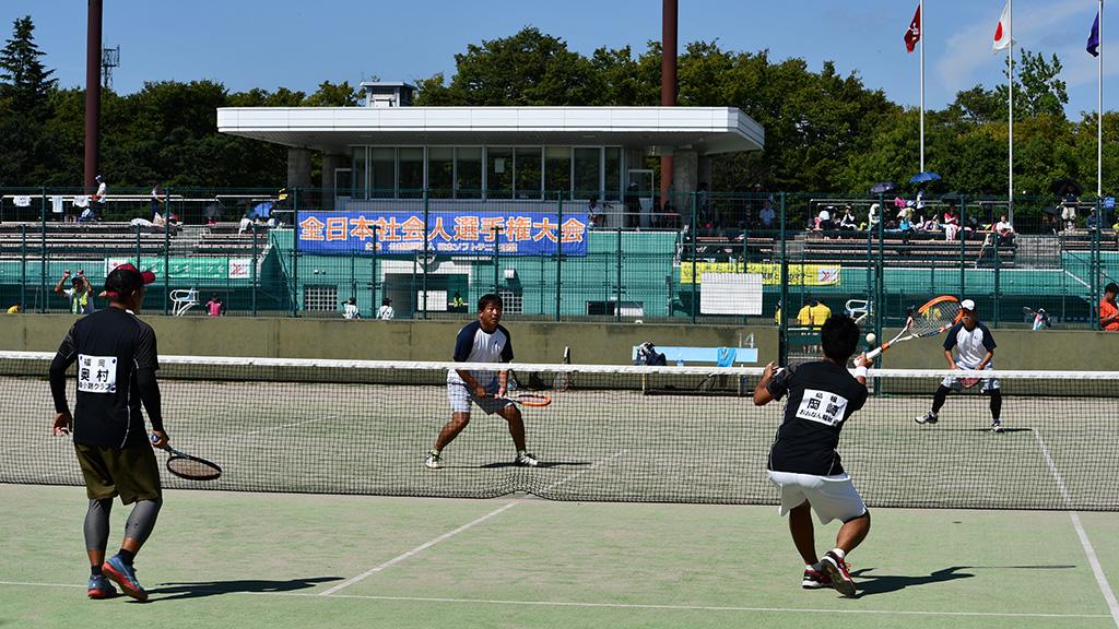 2019全日本社会人ソフトテニス選手権,成年男子(35男子),山形県総合運動公園テニスコート
