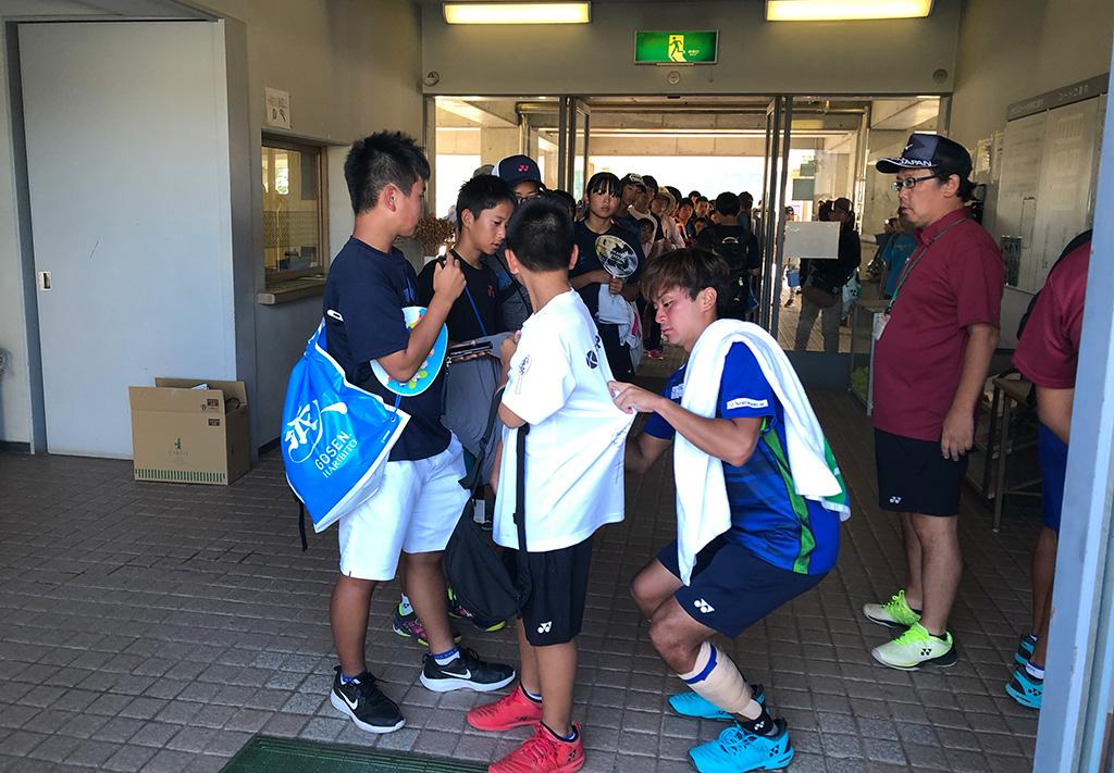 2019全日本社会人ソフトテニス選手権,一般男子優勝,船水颯人プロ