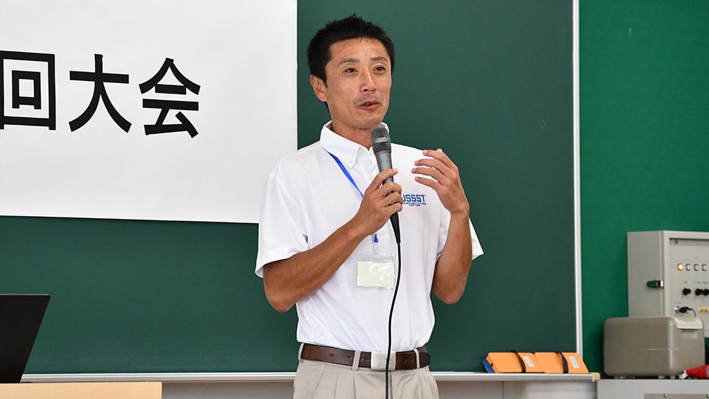 日本ソフトテニス研究会,小峯秋二