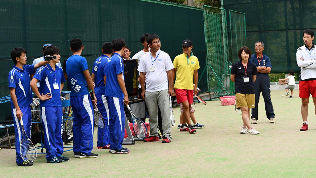日本ソフトテニス研究会,JSSST,オンコート発表