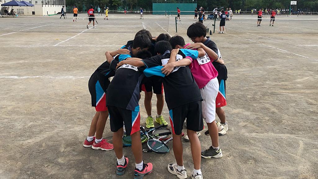 大田区中学校ソフトテニス新人大会,大田区中学新人戦,東調布中