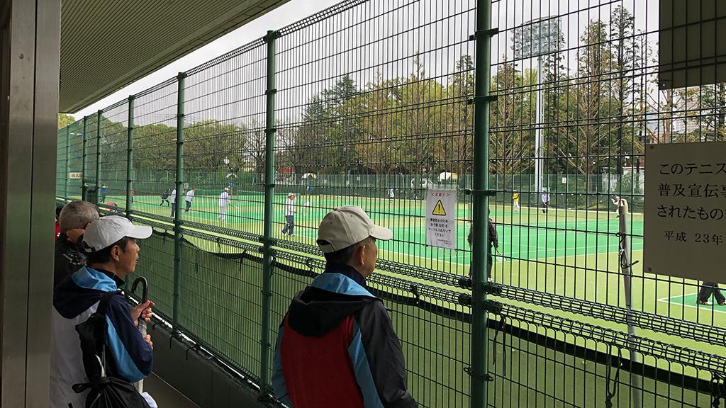 川崎市民ソフトテニス大会,等々力テニスコート