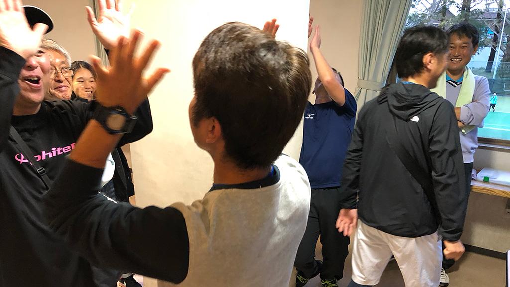 川崎市民ソフトテニス大会,ジャンケン対決