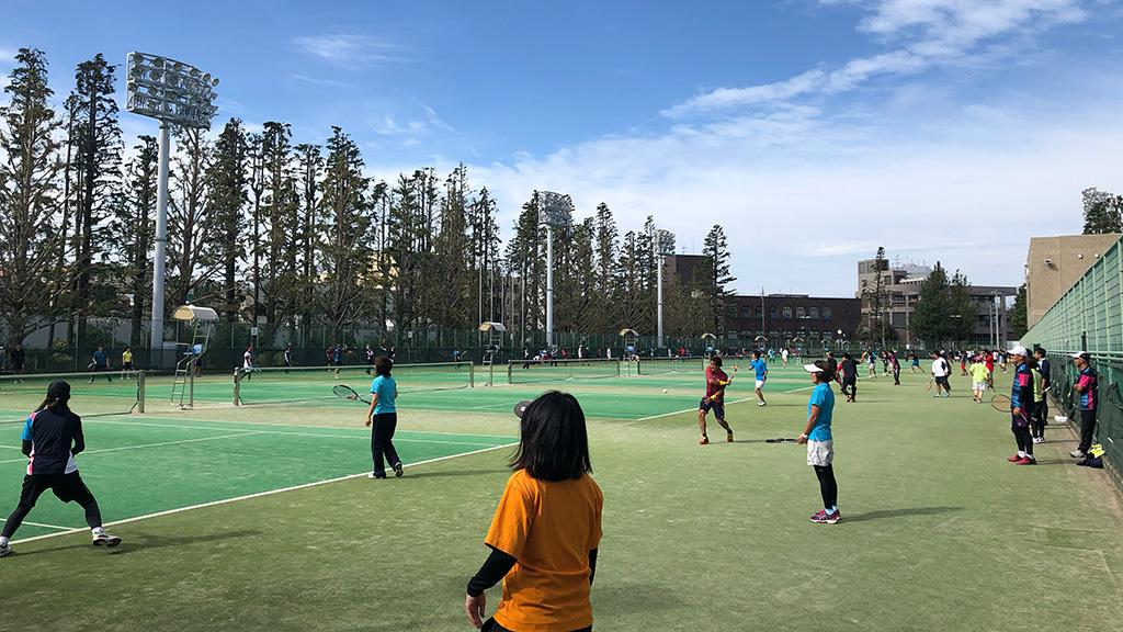 2019川崎市チーム対抗ソフトテニス大会,等々力テニスコート,川崎市民大会