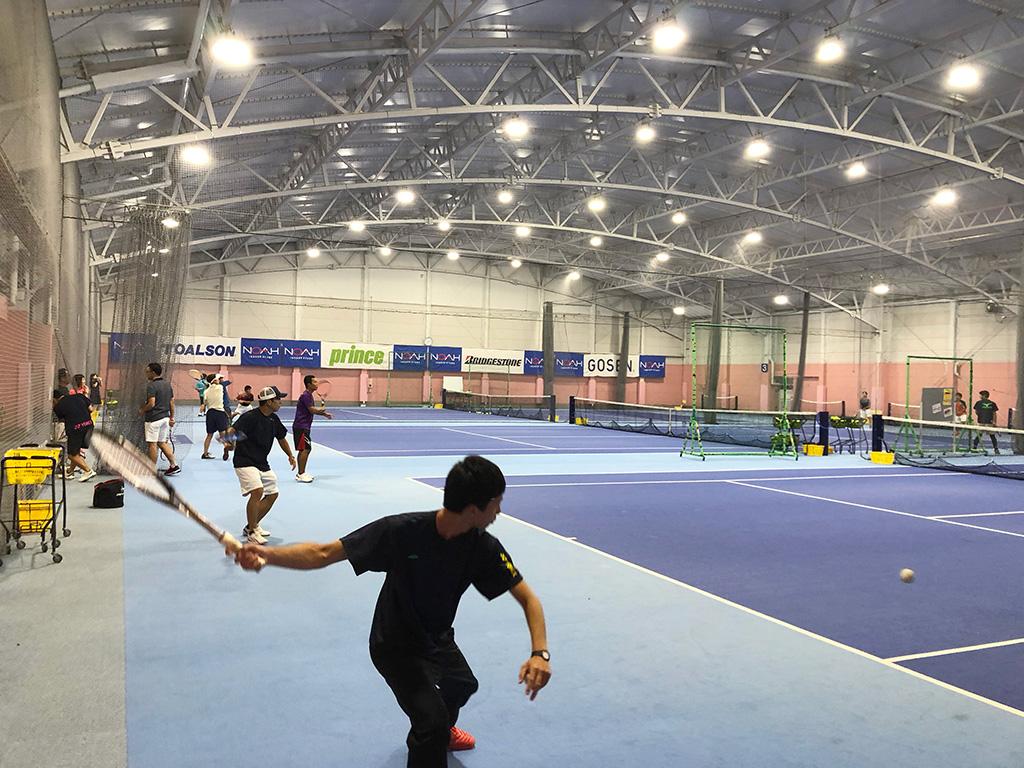 テニススクール・ノア横浜綱島校,ノアインドアステージ株式会社,武蔵小杉ソフトテニス練習会