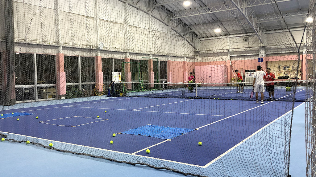 テニススクール・ノア横浜綱島校,ノアインドアステージ株式会社,コーチ研修