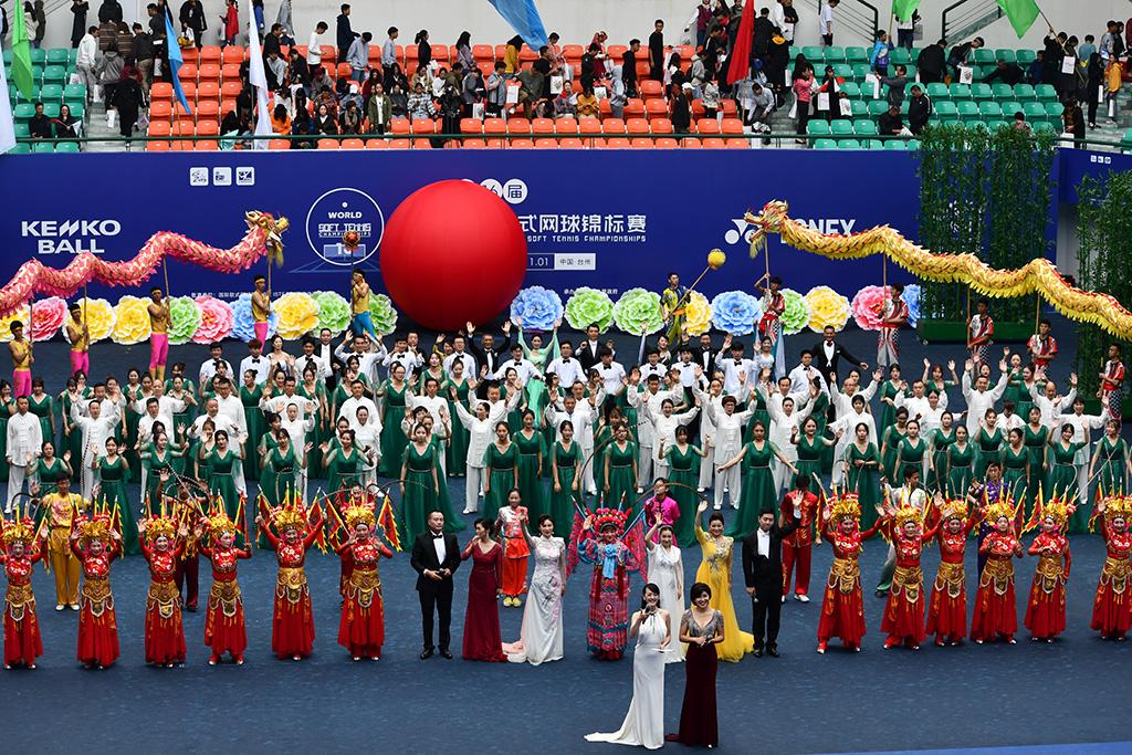 2019ソフトテニス世界選手権,中国台州,開会式