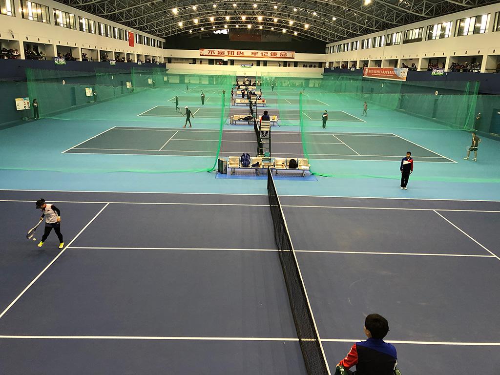 2019ソフトテニス世界選手権,中国台州,試合会場