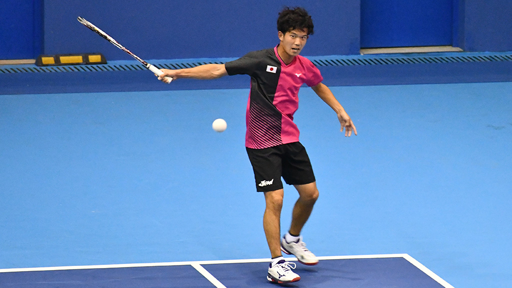 内本隆文,ソフトテニス日本代表,2019世界選手権in台州