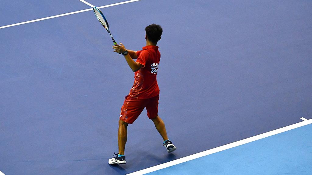 陳郁勲,台湾(中華台北)代表,2019ソフトテニス世界選手権in台州