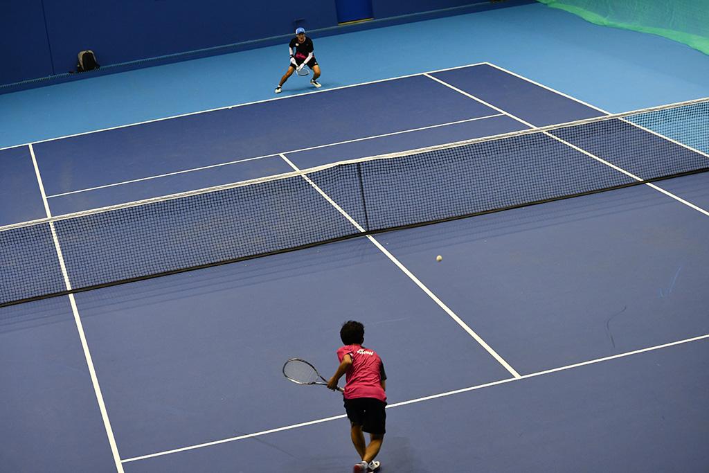 内本隆文,ユン・ヒョンウク,ソフトテニス世界選手権シングルス