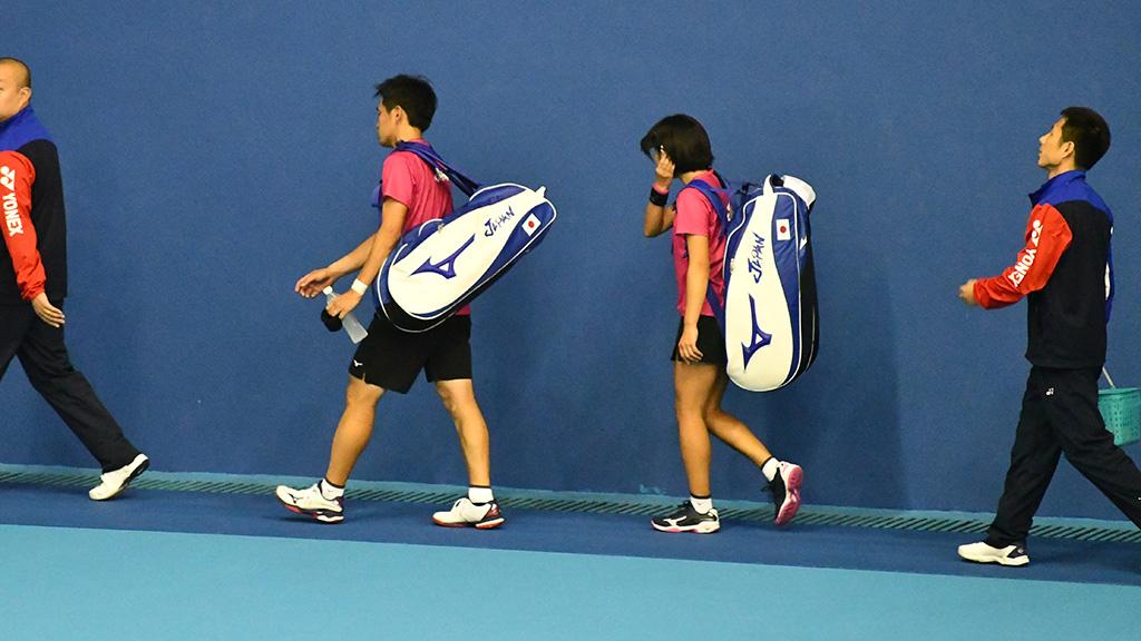 高橋乃綾,長江光一,ソフトテニス日本代表