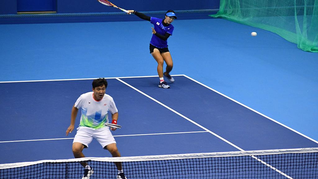 キム・ジョンユン,イ・ジソン,ソフトテニス韓国代表