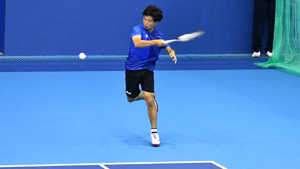 内本隆文,ソフトテニス日本代表