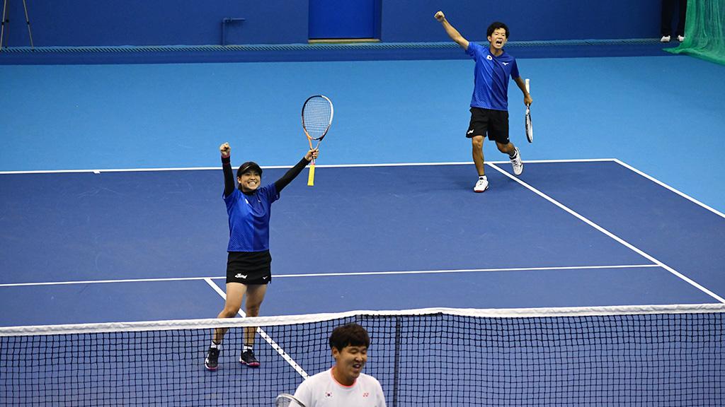 内本隆文,黒木瑠璃華,ソフトテニス日本代表