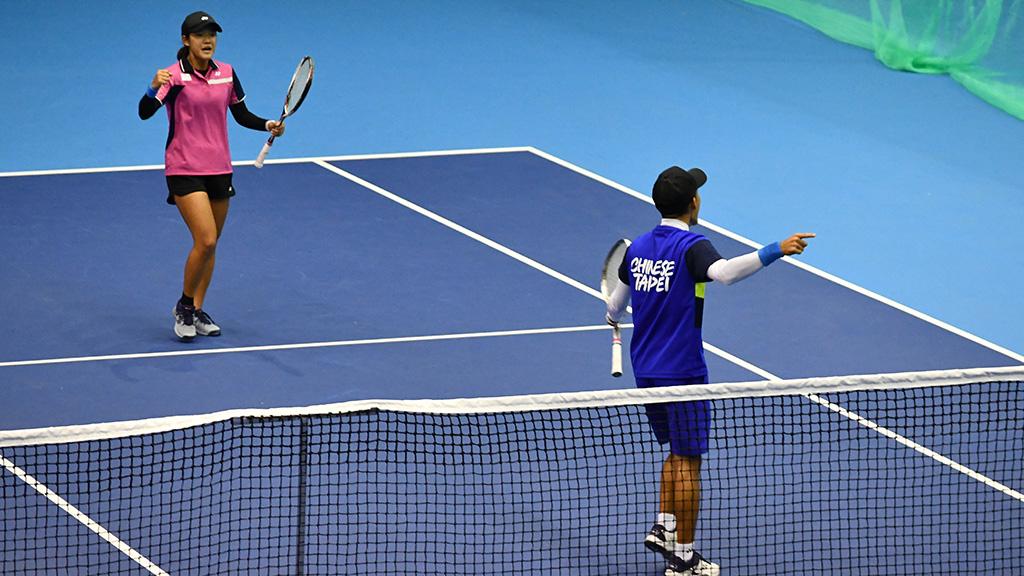 陳宗彣(チェン・ツォンウェン),郭千綺(クォ・チェンチー),ソフトテニス台湾代表