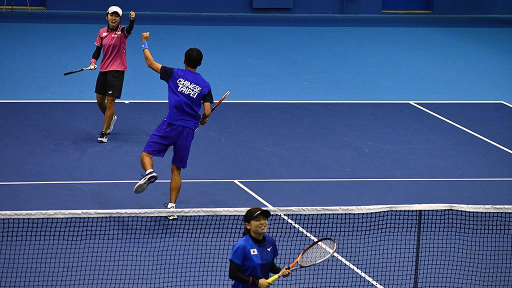 余凱文(ユー・カイウェン),鄭竹玲(チェン・チューリン),ソフトテニス台湾代表