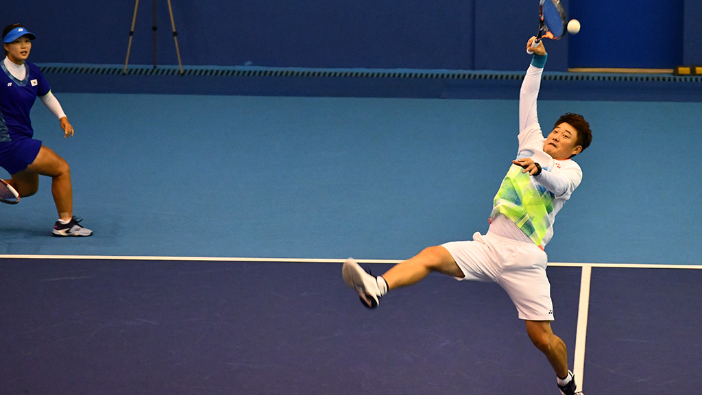 ムン・ヘギョン,パク・キュチョル,ソフトテニス韓国代表