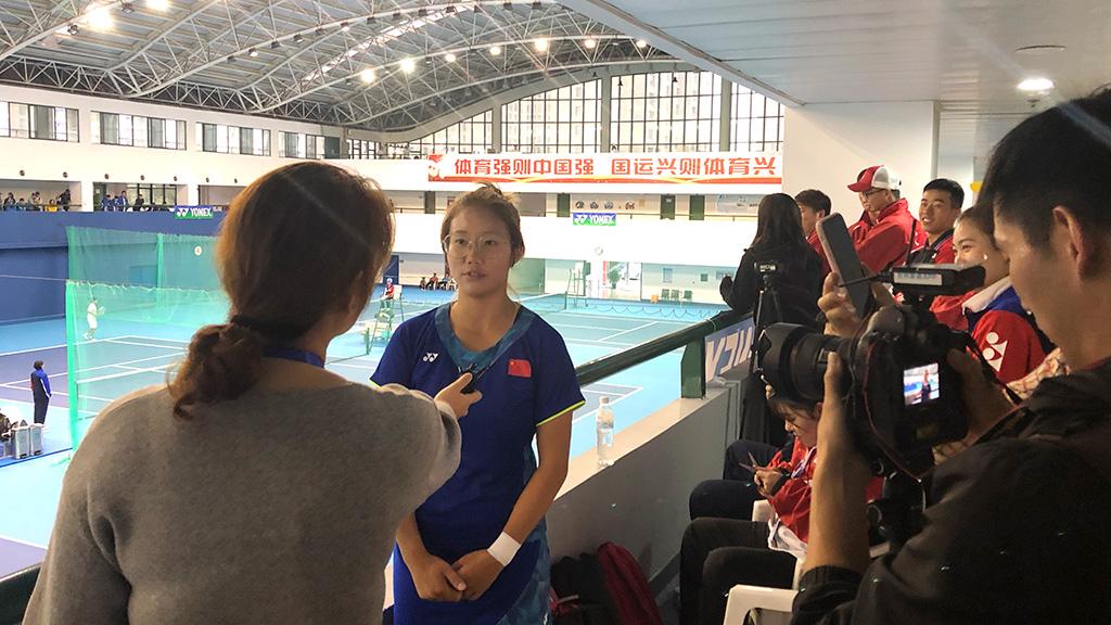 シェスーチー(XIE SIQI),ソフトテニス中国代表,2019世界選手権女子シングルス優勝