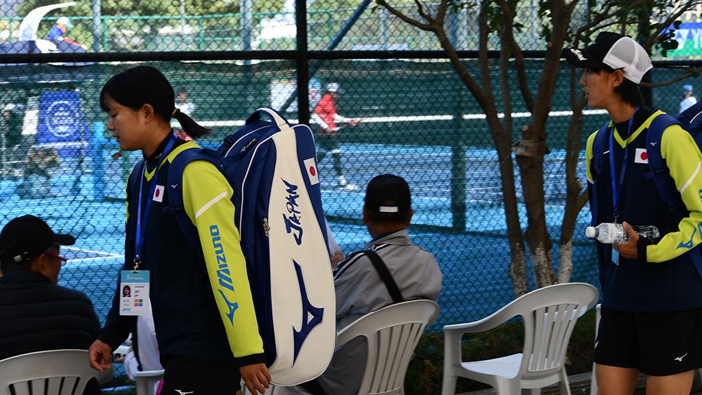 林田リコ,島津佳那,ソフトテニス日本代表