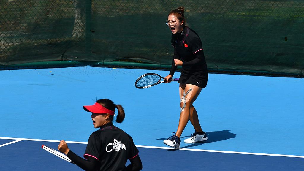 ソフトテニス中国代表,シェ・スーチー(XIE SIQI),