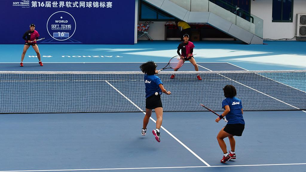 林田島津,高橋半谷,ソフトテニス世界選手権女子ダブルス決勝戦