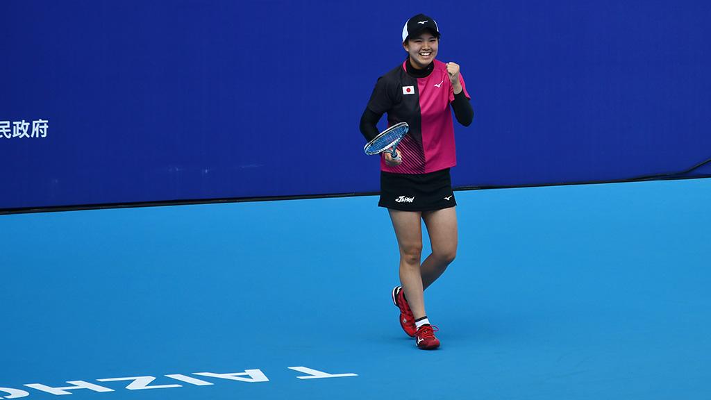 林田リコ,ソフトテニス日本代表,世界選手権ダブルス銀メダル