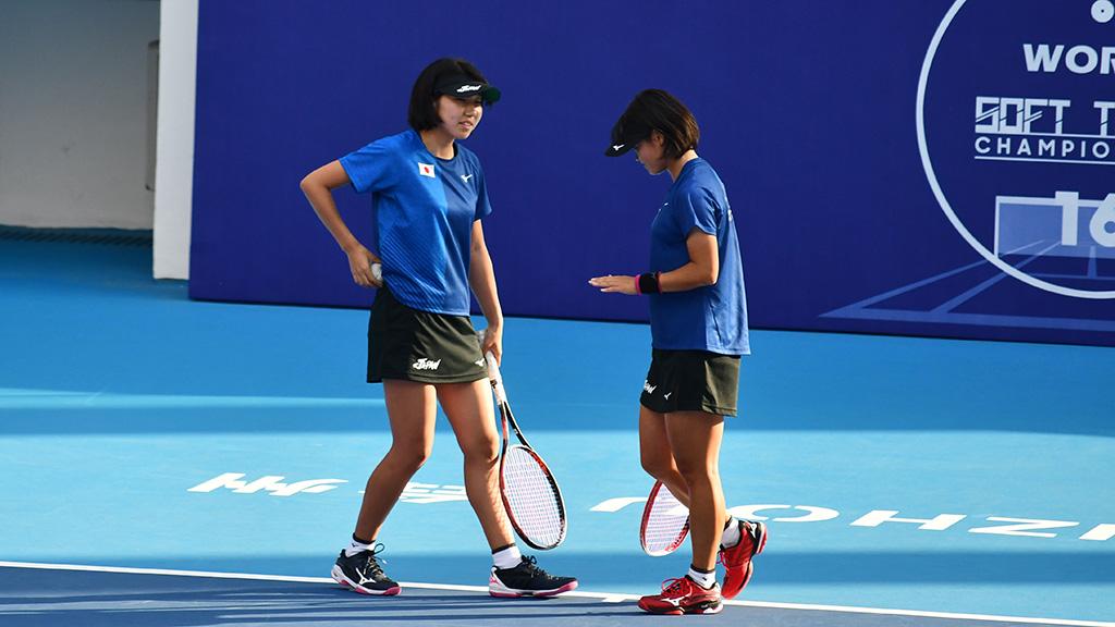 高橋乃綾,半谷美咲,ソフトテニス日本代表