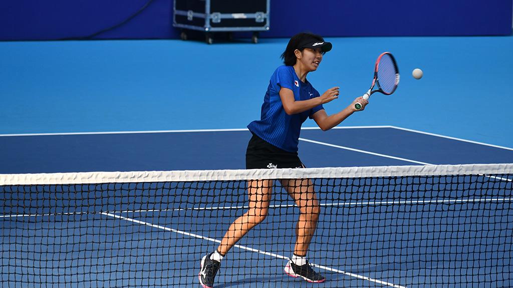 高橋乃綾,ソフトテニス日本代表,世界選手権ダブルス銀メダル