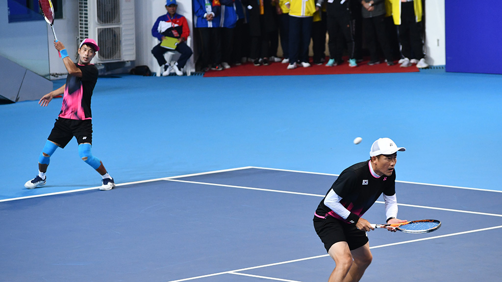 ソフトテニス韓国代表,イ・ヒョンス,パク・キュチョル