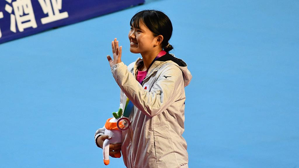 林田リコ,世界選手権女子シングルス銅メダル,ソフトテニス日本代表