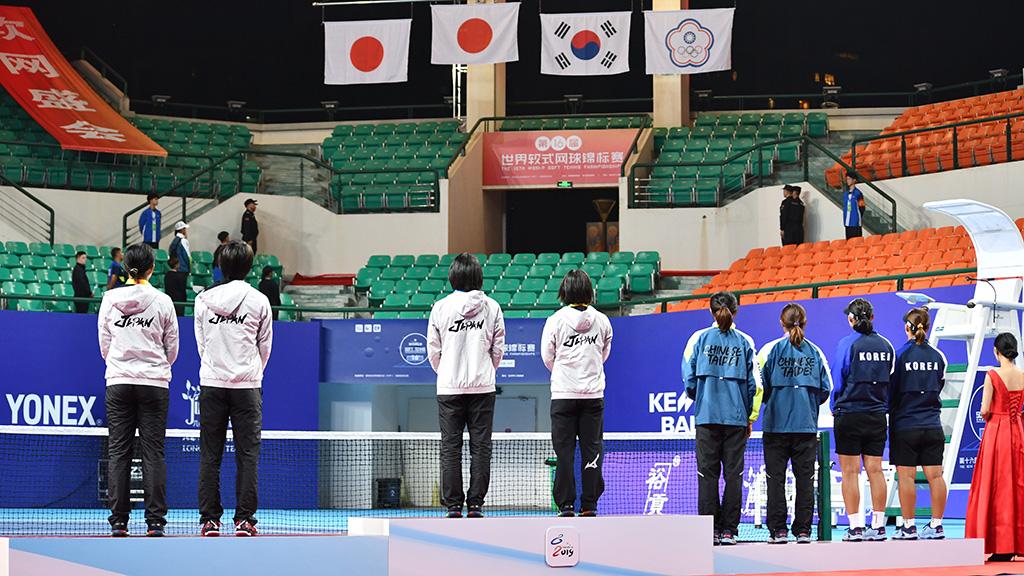 世界選手権女子ダブルスメダリスト,日本,台湾(中華台北),韓国
