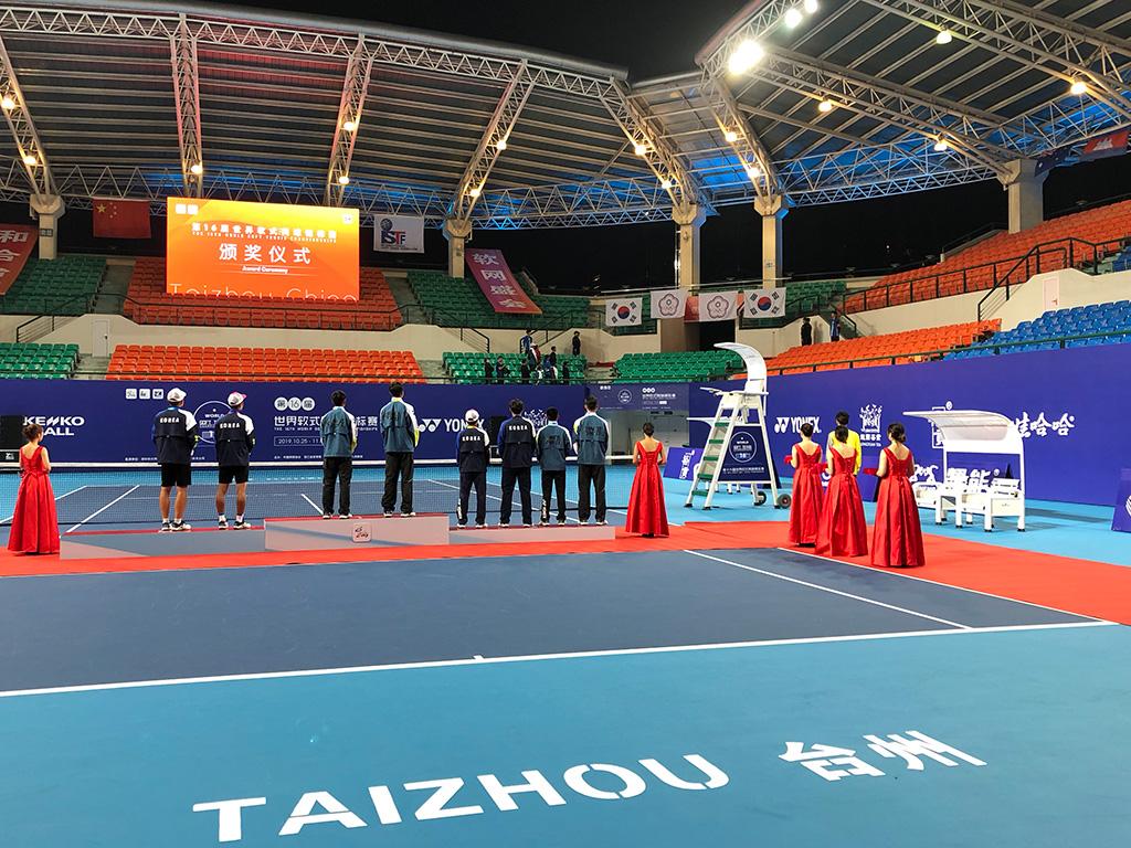 世界選手権男子ダブルスメダリスト,台湾(中華台北),韓国
