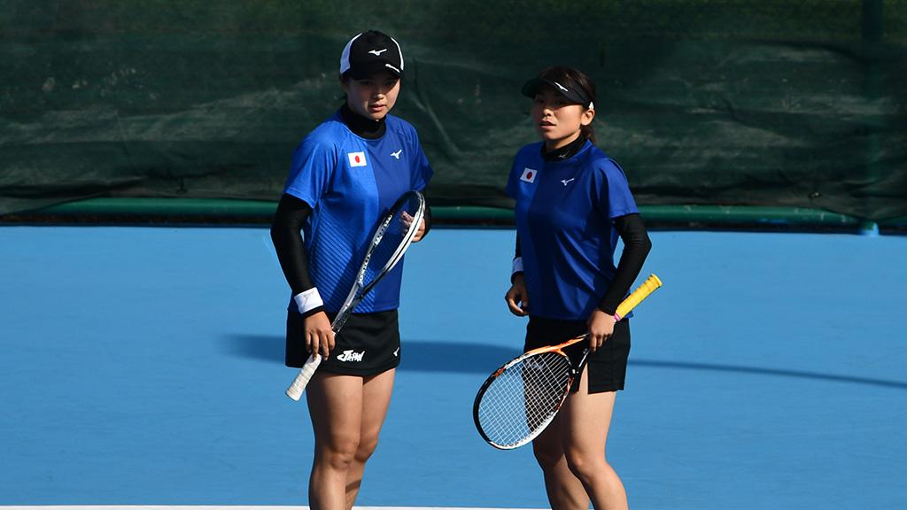 林田リコ,黒木瑠璃華,ソフトテニス日本代表