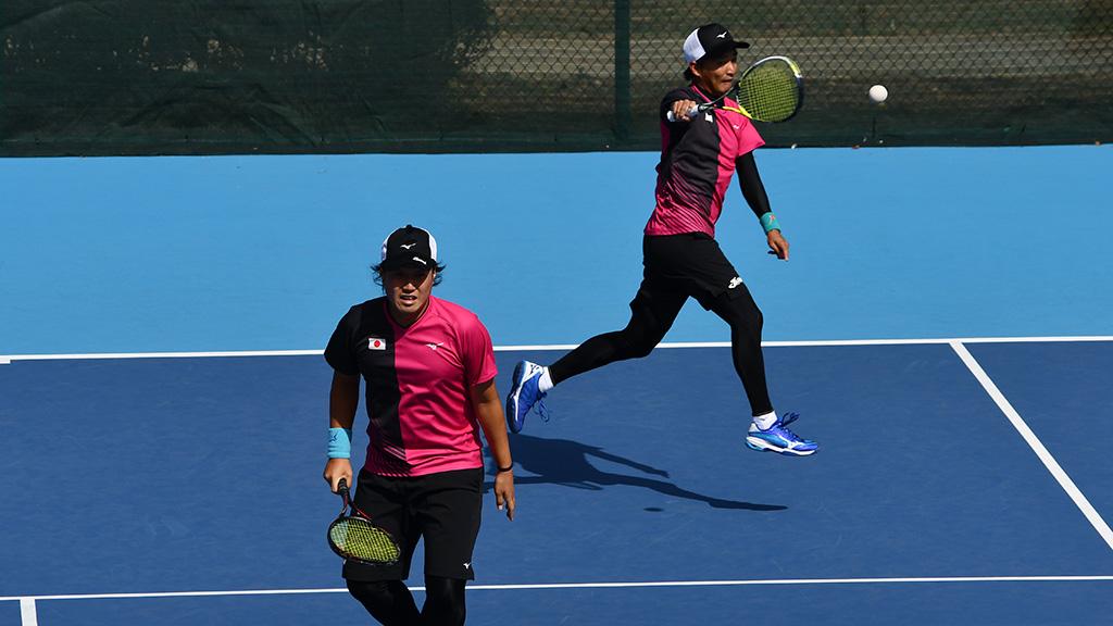 中本圭哉,鈴木琢巳,ソフトテニス日本代表