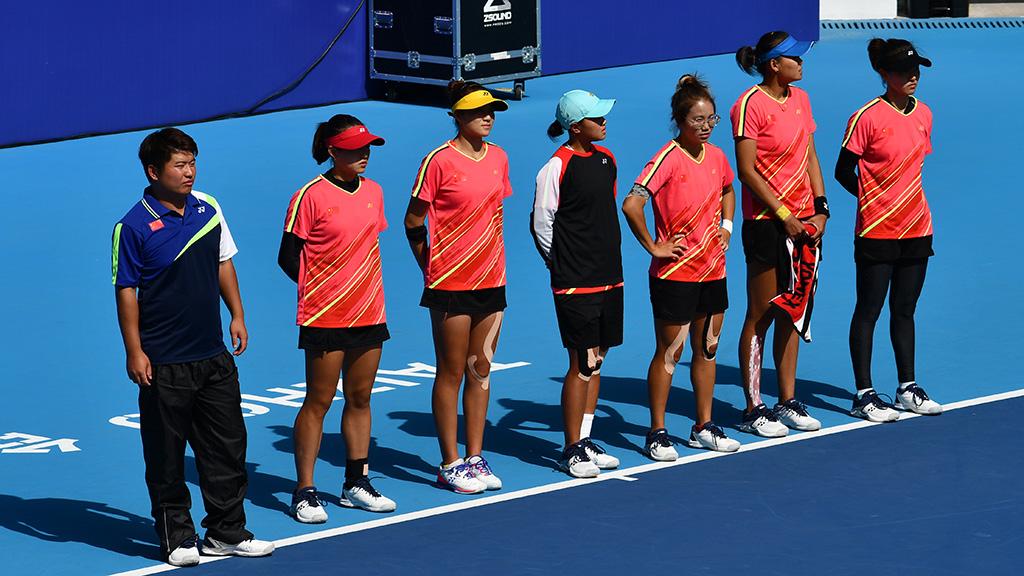 2019ソフトテニス世界選手権,ソフトテニス中国代表,国別対抗団体戦