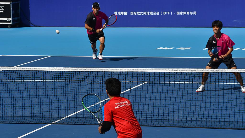 日本代表,フィリピン代表,世界選手権国別対抗