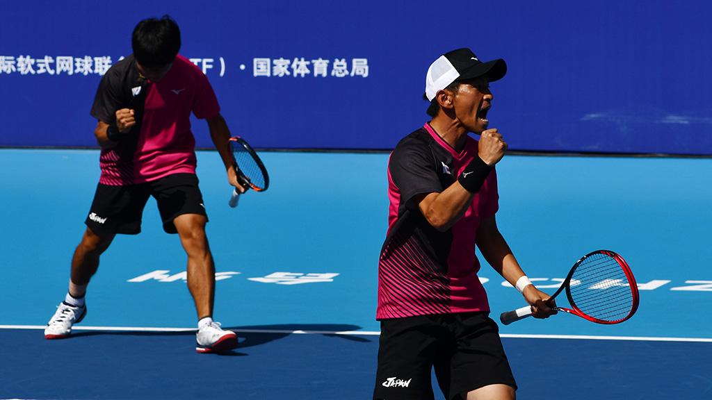 丸中大明,長江光一,ソフトテニス日本代表