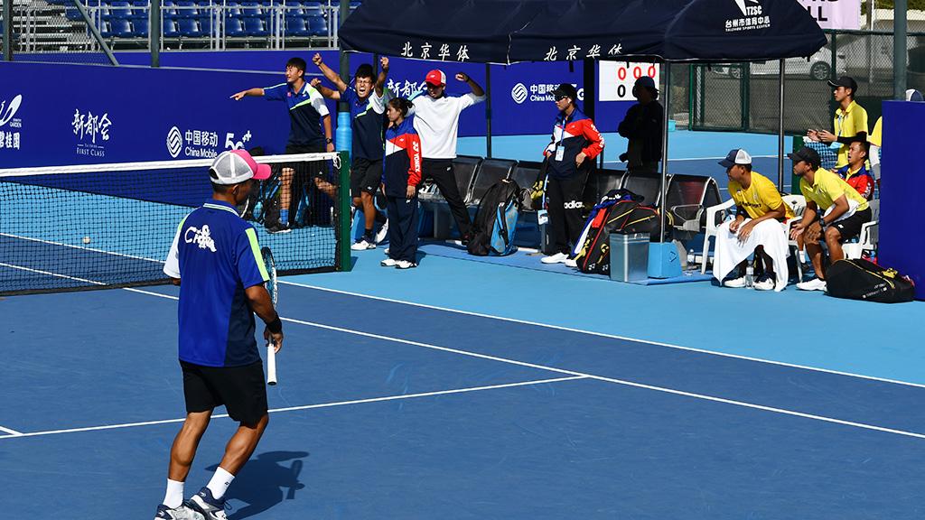 タイ代表,中国代表,世界選手権国別対抗