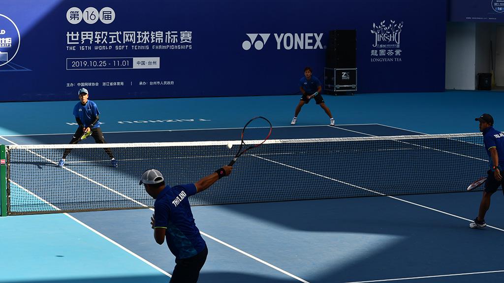 日本-タイ戦,2019ソフトテニス世界選手権,国別対抗団体戦