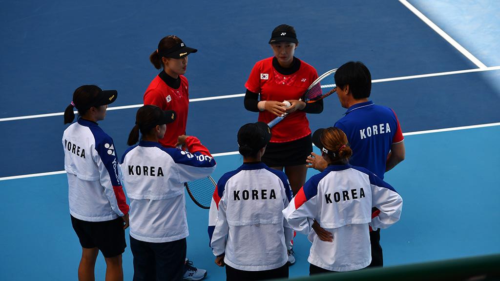 ムン ヘギョン・コ ウンジ,ソフトテニス韓国代表,2019世界選手権国別対抗団体戦