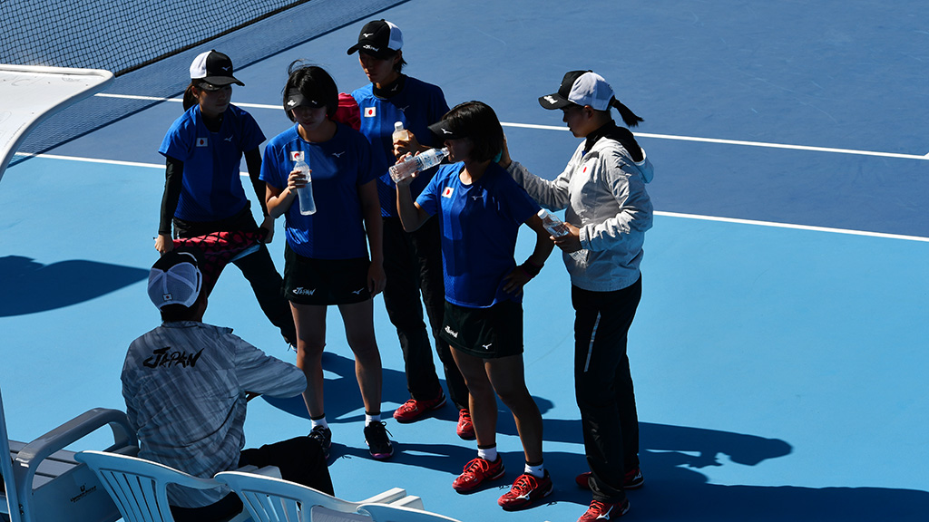 2019ソフトテニス世界選手権団体決勝,ソフトテニス日本代表団体戦,日韓戦