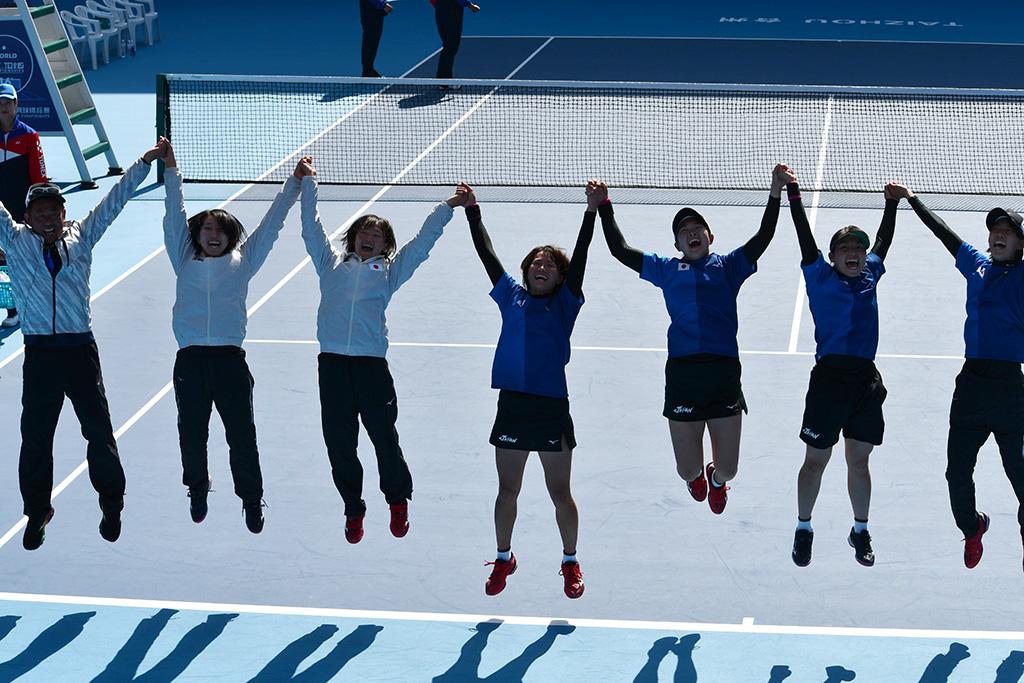 2019ソフトテニス世界選手権国別対抗団体戦決勝,ソフトテニス日本代表,金メダル