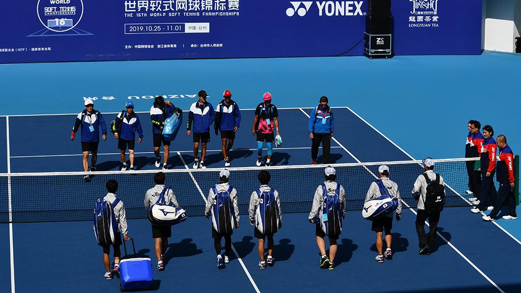 2019ソフトテニス世界選手権,ソフトテニス日本代表,国別対抗団体戦