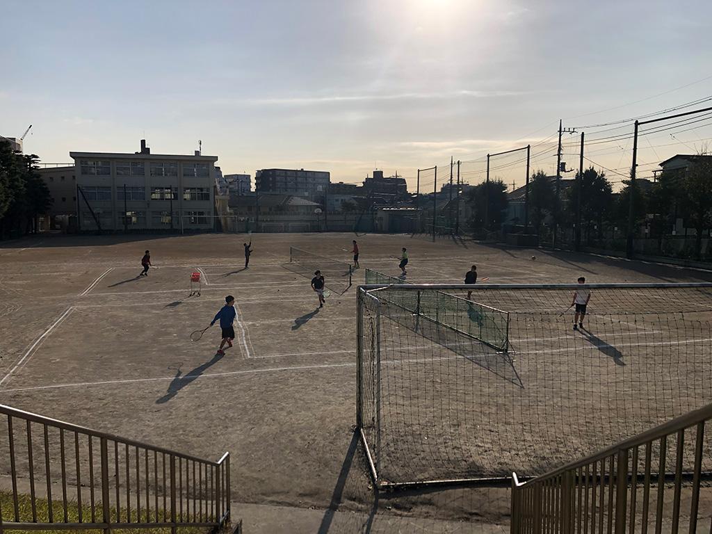 東調布中学校ソフトテニス部