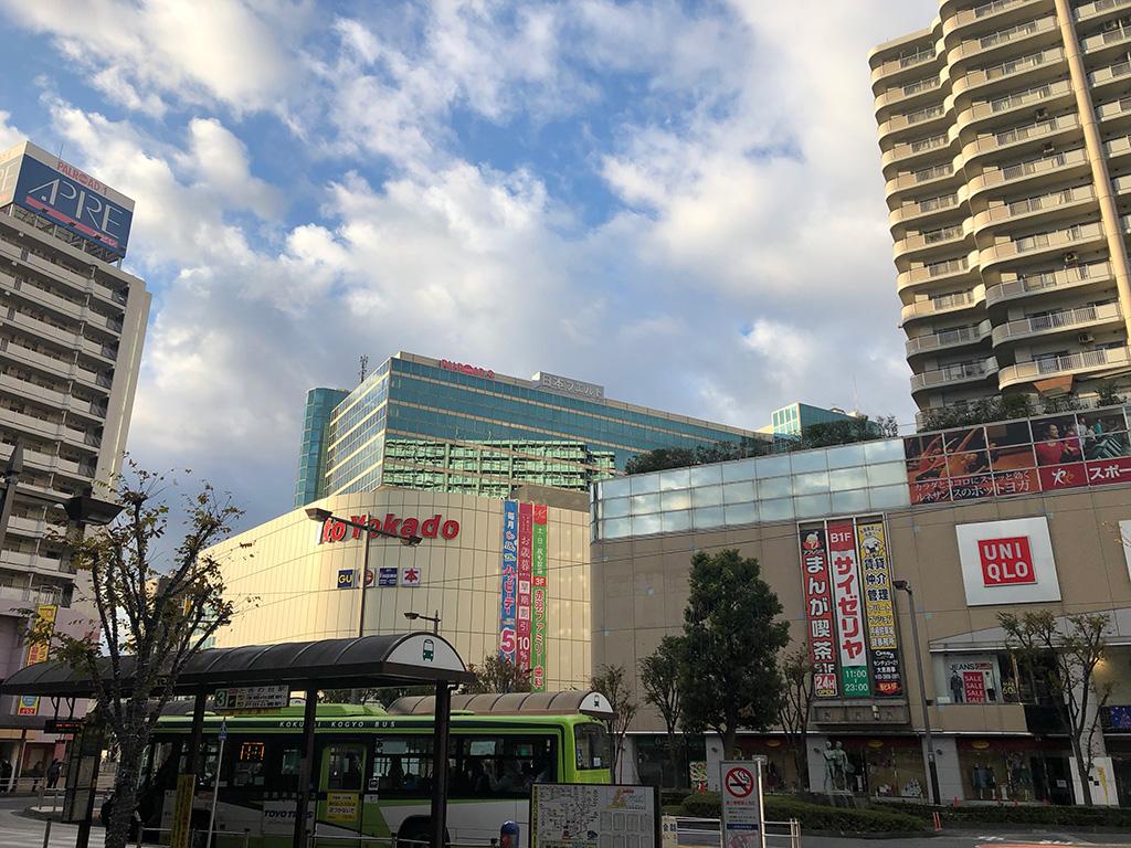 東京都北区,赤羽駅西口周辺