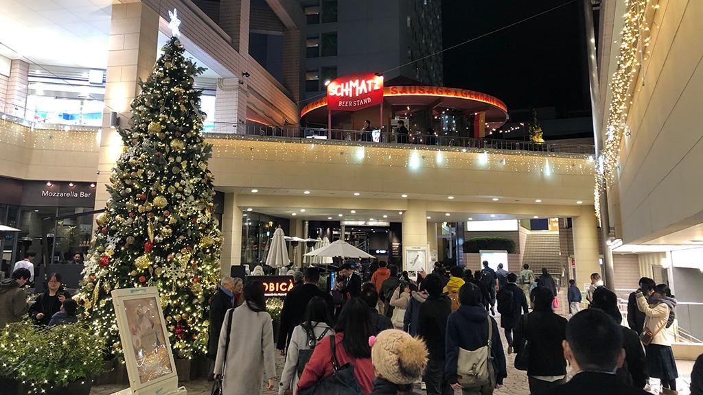 品川プリンスホテル,クリスマスツリー