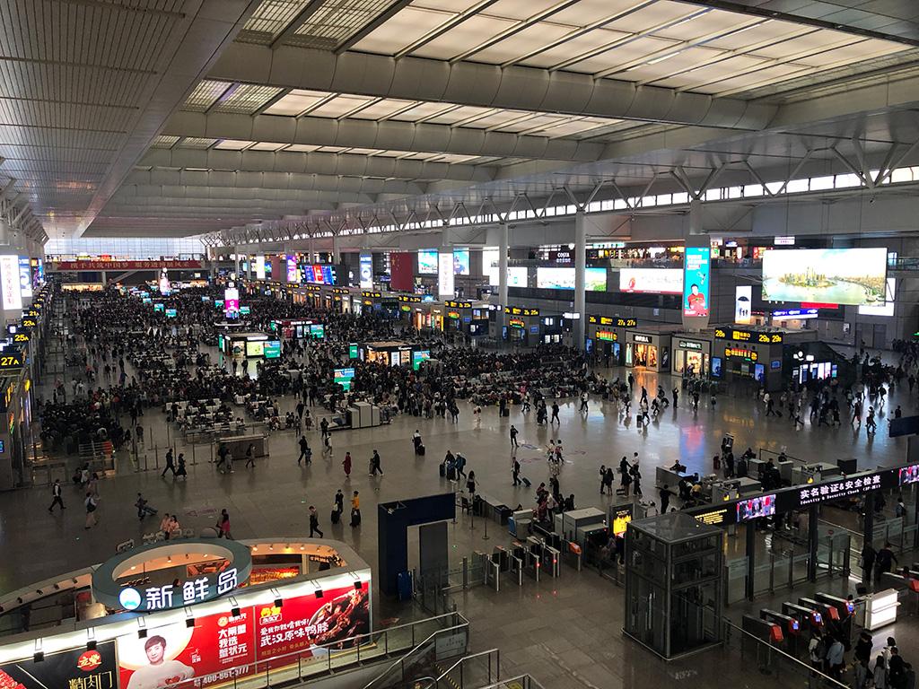 台州ぶらり旅,虹橋駅,高速鉄道