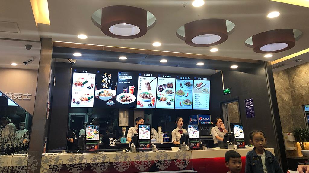 中国上海,虹橋駅,食事