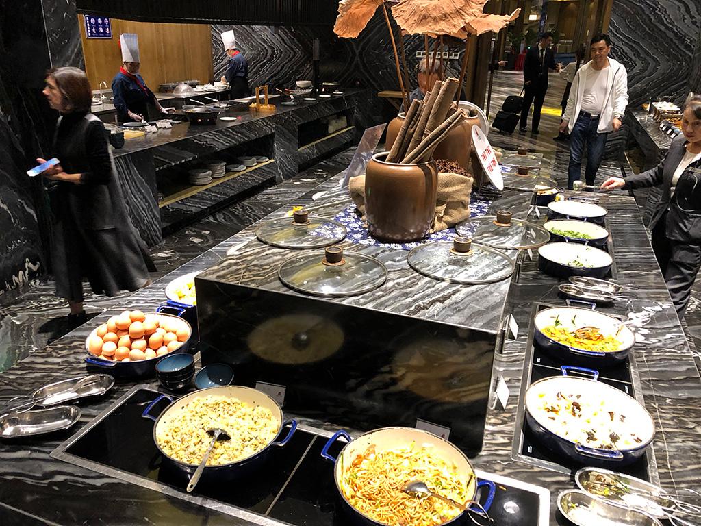 台州香溢大酒店,Taizhou Sunny Hotel,朝食ビュッフェ